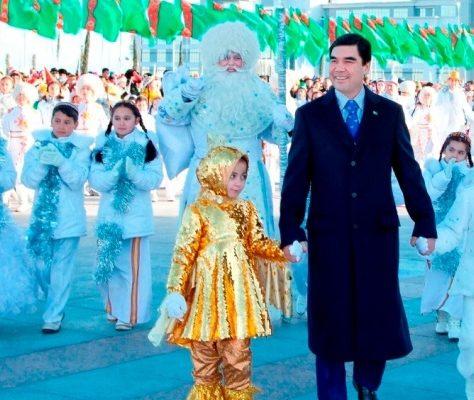 Aschgabat Feier