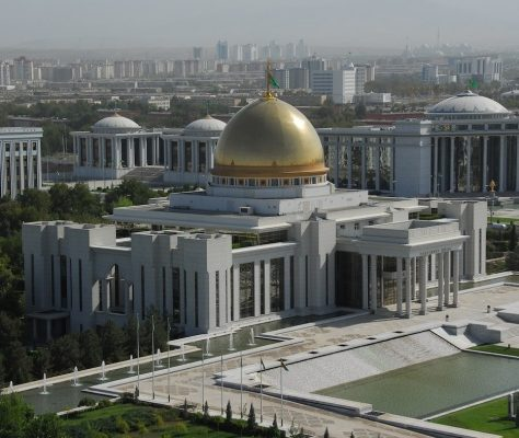 Aschgabat Präsidentenpalast