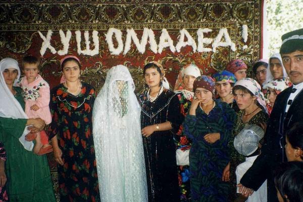 Tajik Wedding