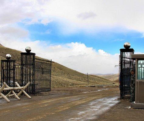 Grenze China Kirgistan
