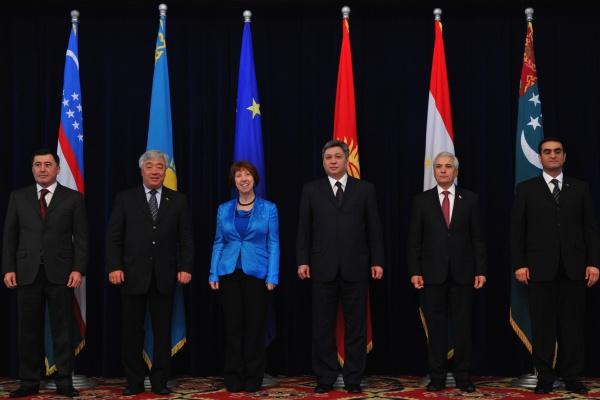 EU Central Asia Ashton