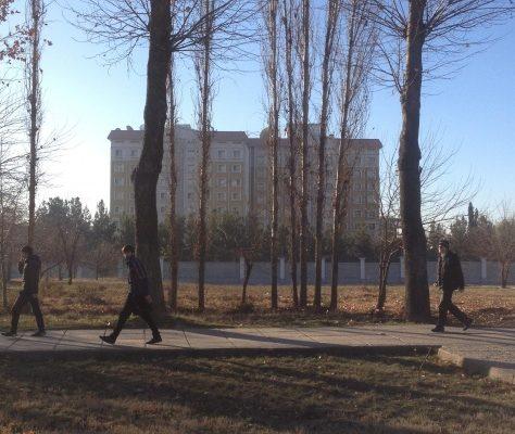 Die russische Botschaft in Duschanbe