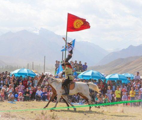 Wahlkampf Kirgistan