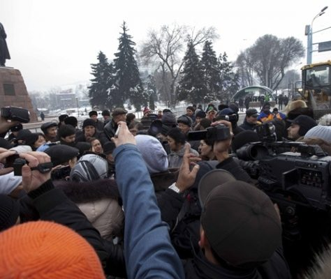 Demonstration almaty