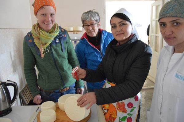 Mutschli Käse Tadschikistan Schweiz