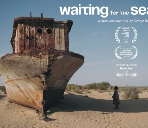Waiting for the Sea Documentary Uzbekistan Poster Music Stihia Festival