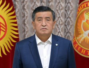 Sooronbay Jeenbekov Kyrgyzstan