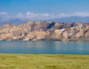 Toktogul Reservoir in Kyrgyzstan
