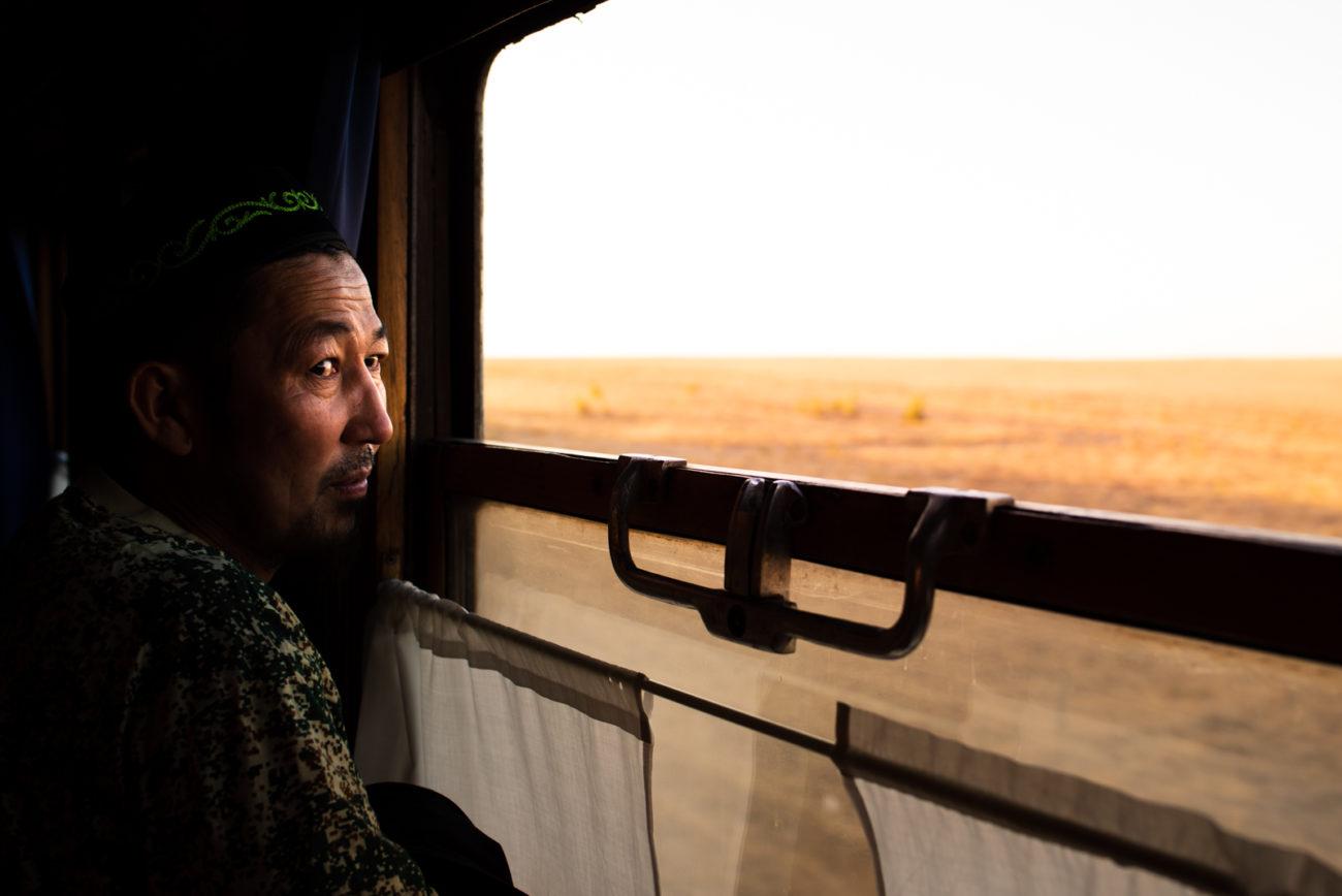 Photo of the day Antoine Béguier Kazakhstan Steppe Train