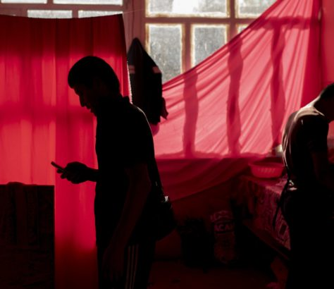 Photo of the day Irina Unruh Red Curtain Atmosphere Kyrgyzstan