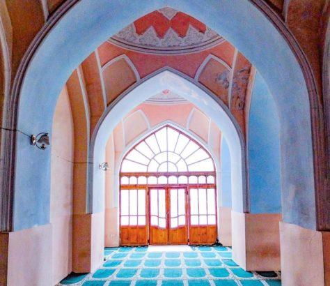 mosque tajikistan interior architecture