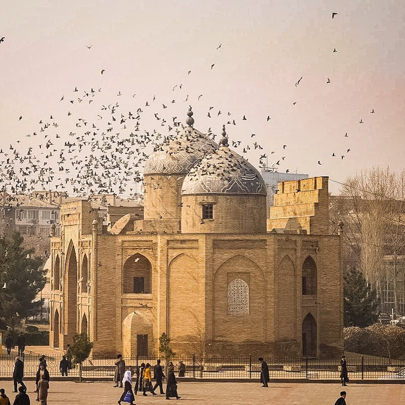Photo of the day Tajikistan Khujand Mausoleum