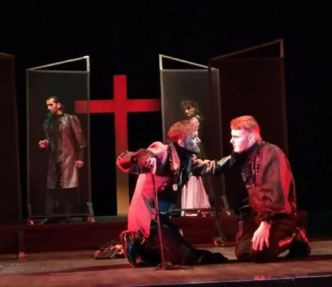 Staging of Tartuffe by the Mayakovsky Theatre in Dushanbe