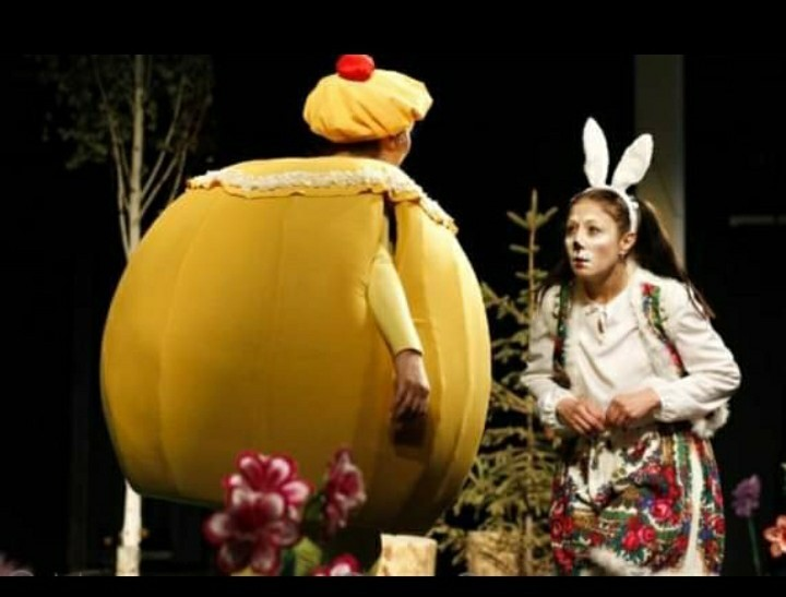 A children's play directed by Mustafoev