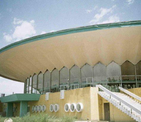 Kyrgyzstan Bishkek Circus Architecture