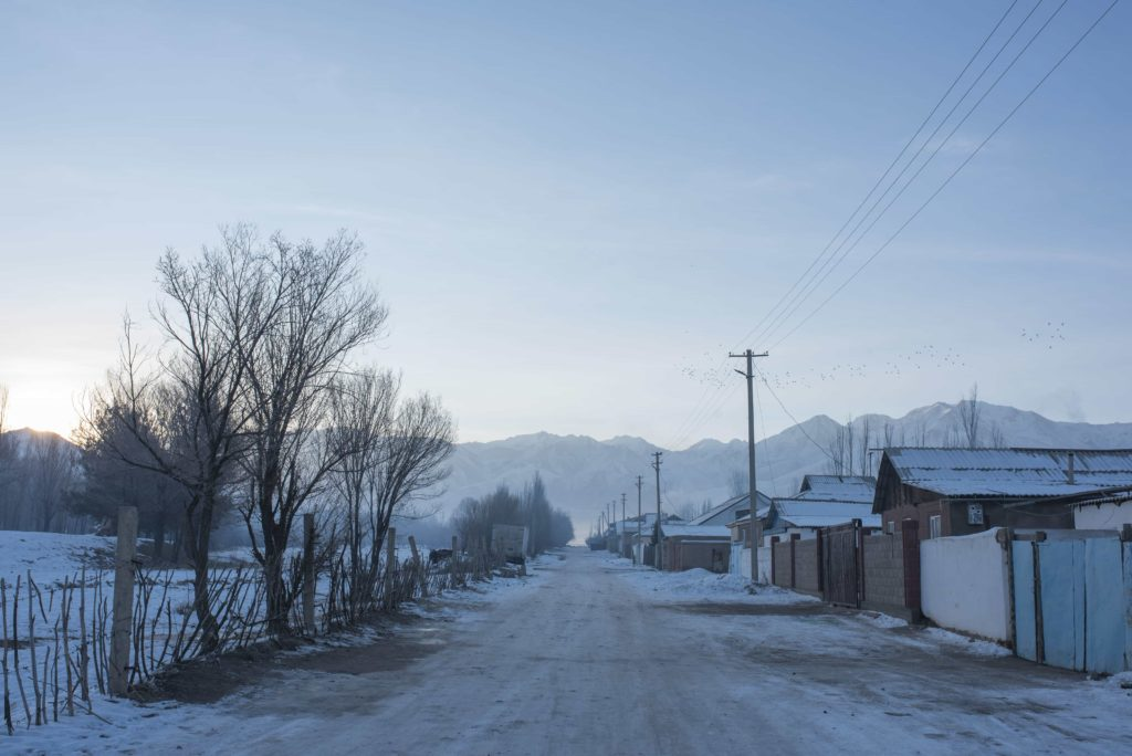 Photo of the day Kyrgyzstan Irina Unruh Village winter