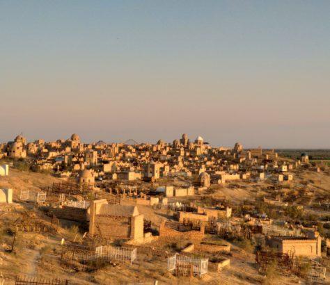 uzbekistan nukus karakalpakstan cemetery
