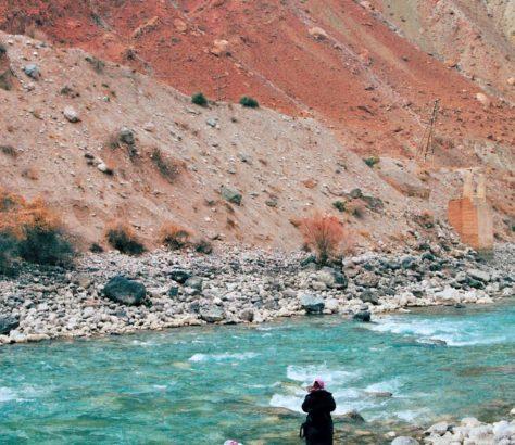 Photo of the day Tajikistan Zeravshan River