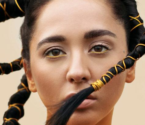 The singer Manizha