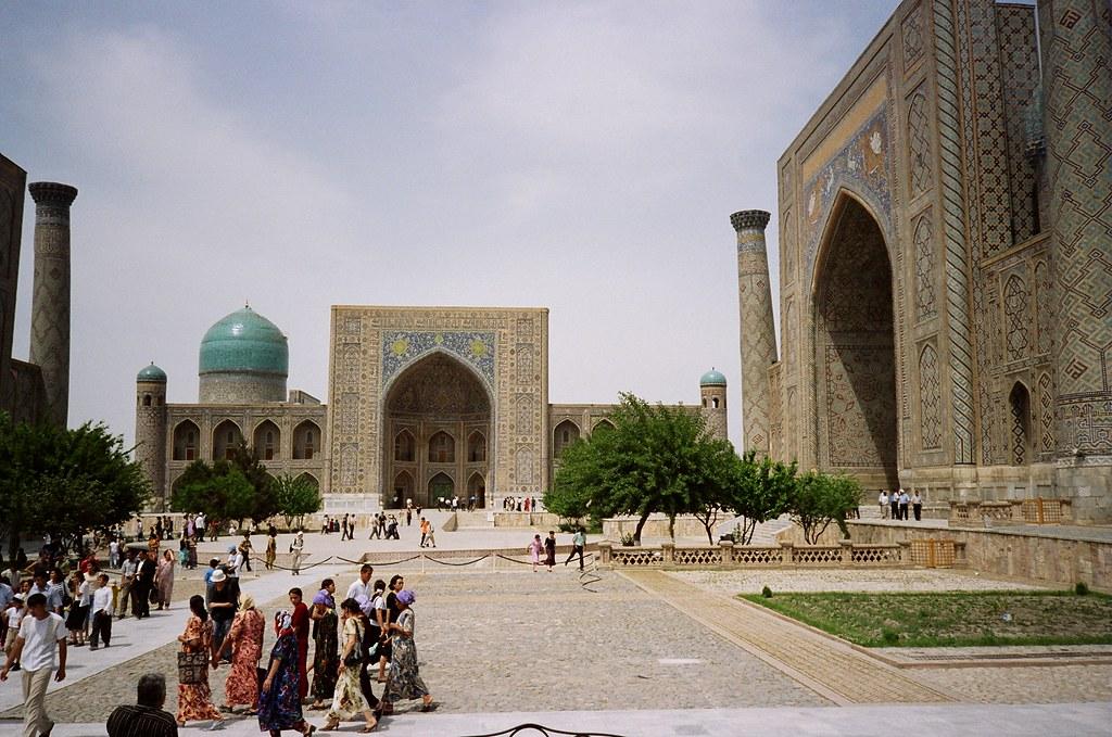 Uzbekistan Madrasa Registan