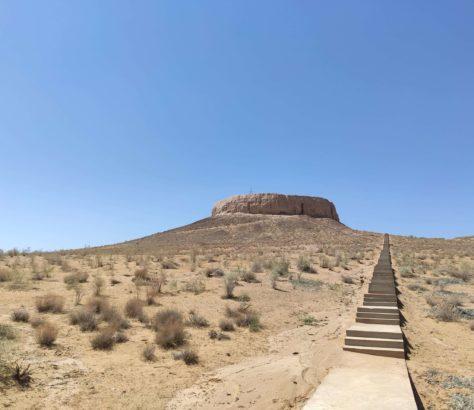 fortress Chilpik Kala Nukus Urgench Uzbekistan