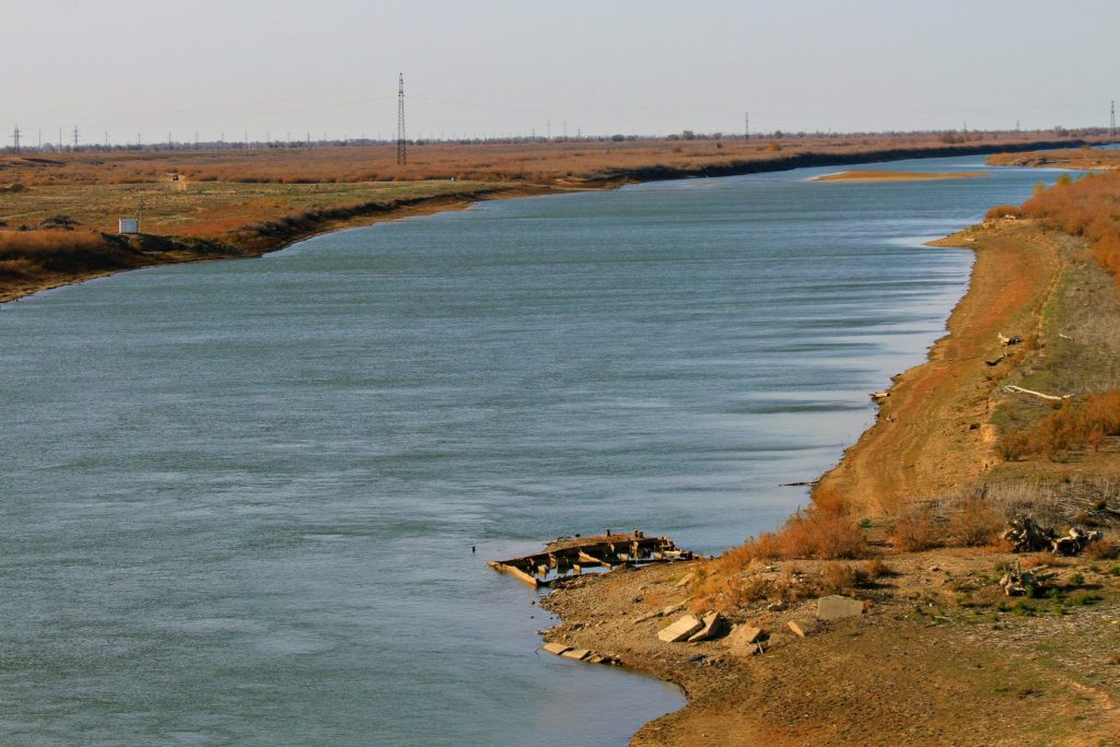 View of the Ural River