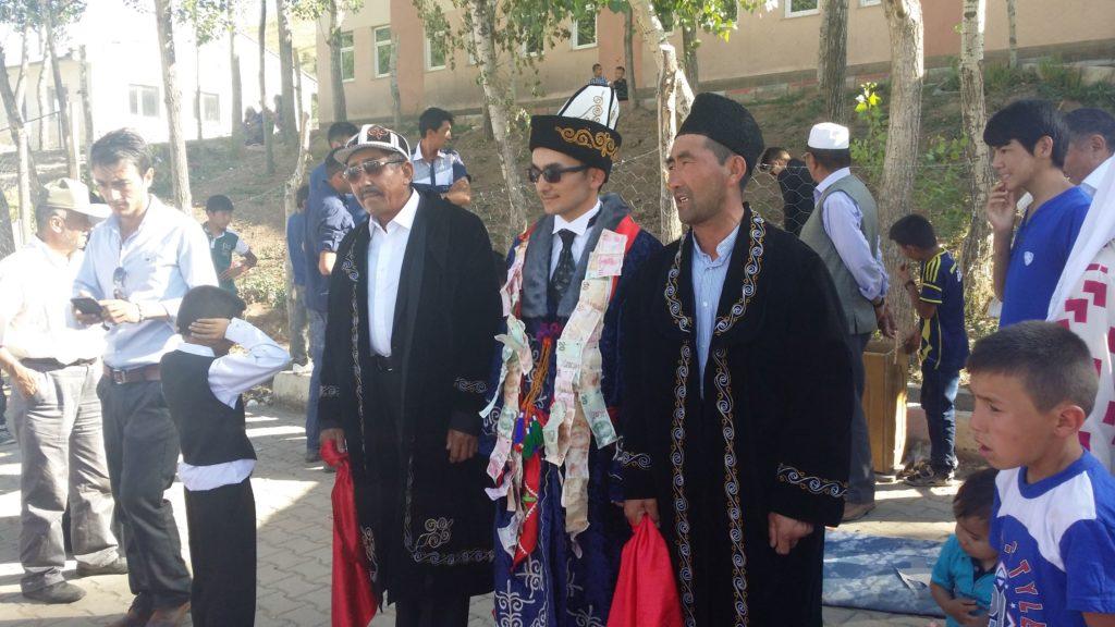 A Van Kyrgyz groom.
