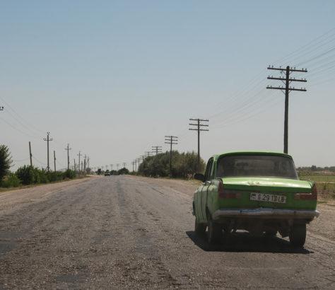 Photo of the day Turkmenistan Türkmenabat Road Car