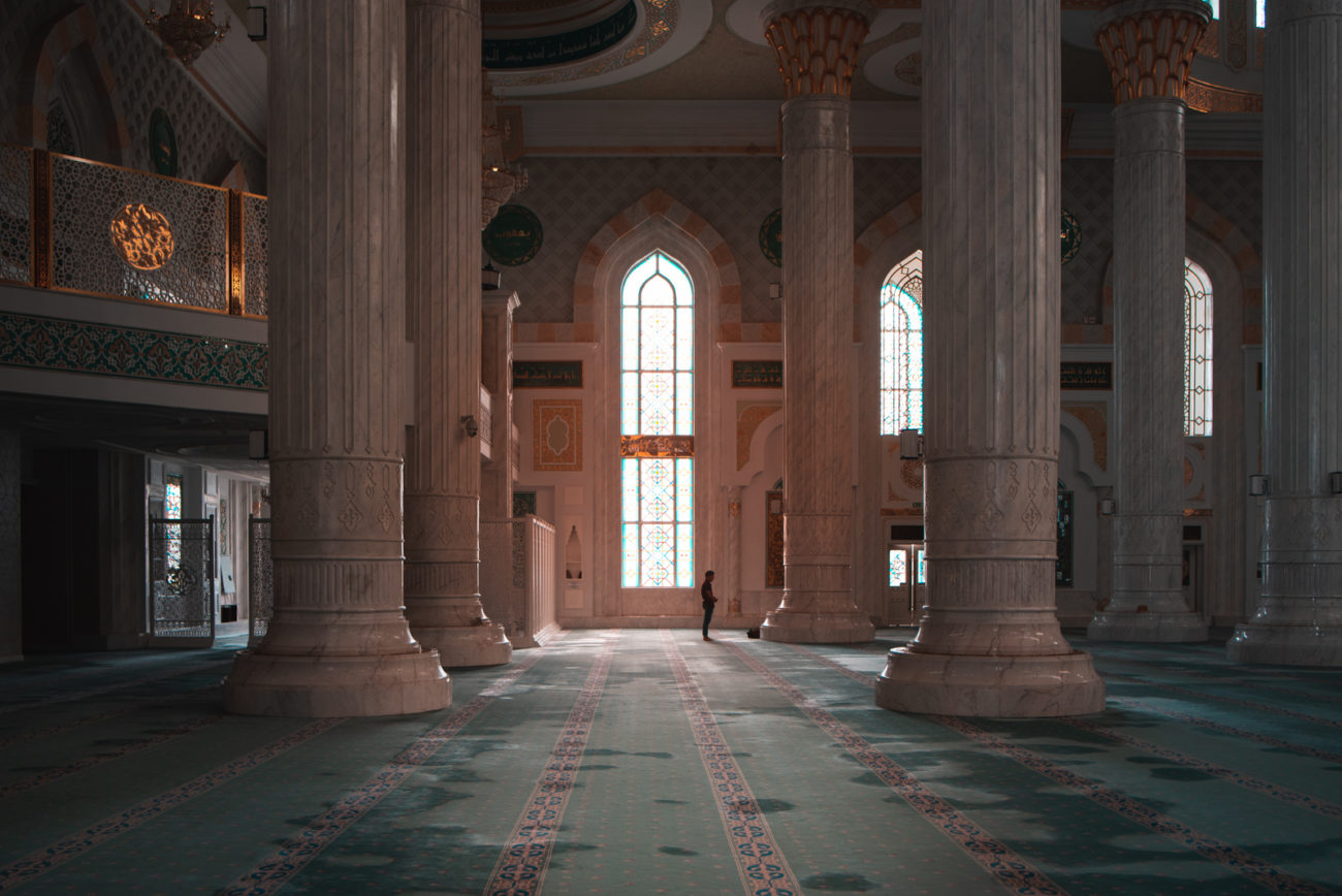 Photo of the day Kazakhstan Nur-Sultan Mosque Antoine Béguier
