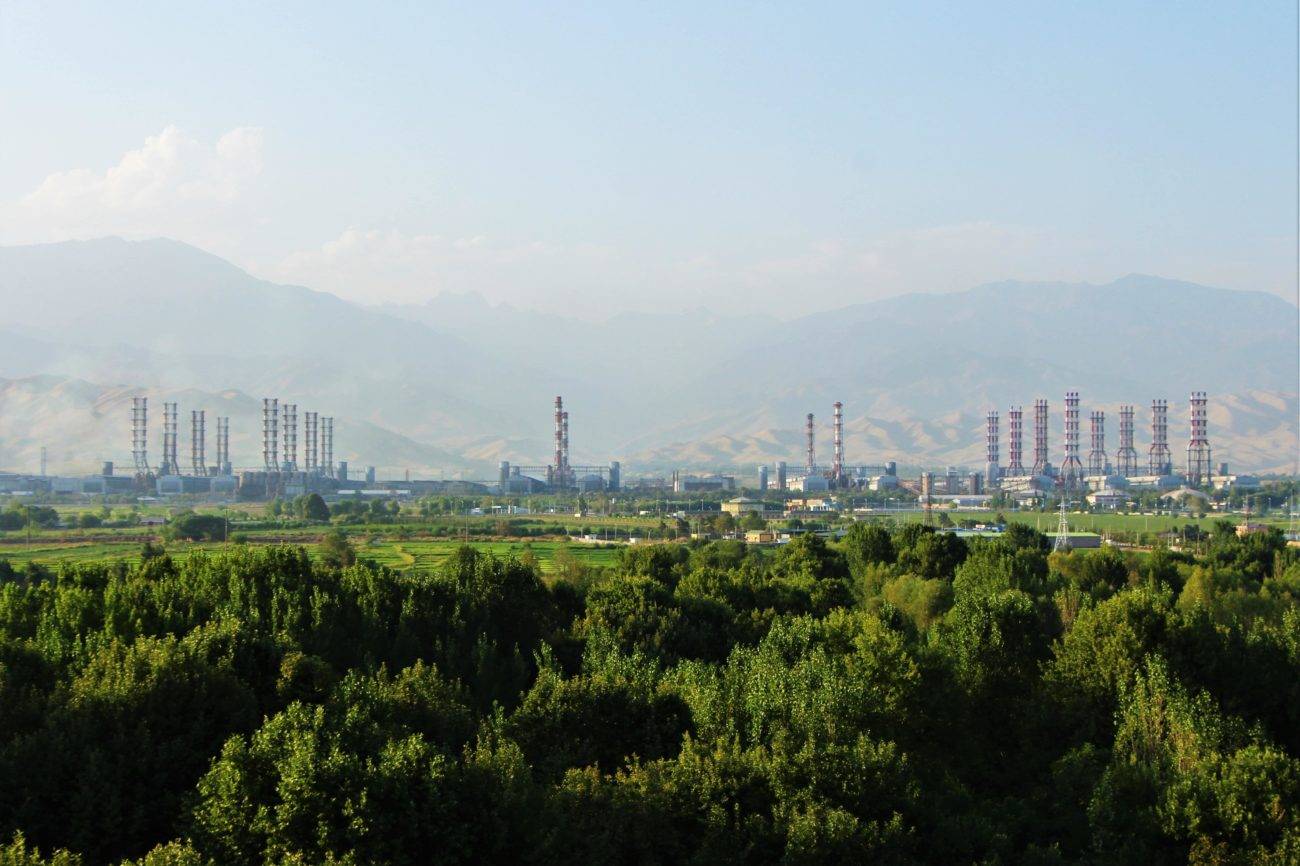 Talco Tadjikistan Chimney Aluminum Industry