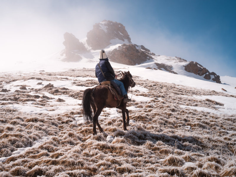 Photo of the day Kyrgyzstan Antoine Béguier Village Nomad Horse