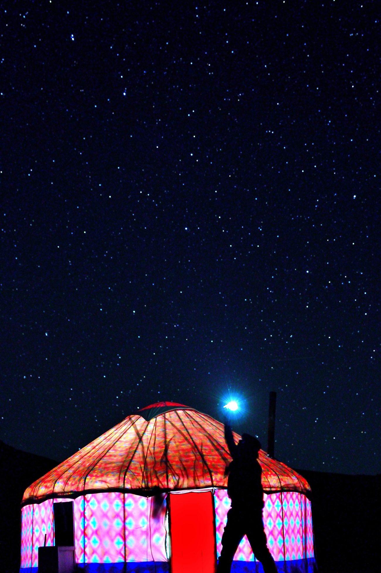 Photo of the day Kyrgyzstan Son Kul Lake Night Stars