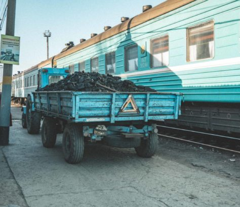 Kazakhstan, Train, Station, Coal, Photo of the day