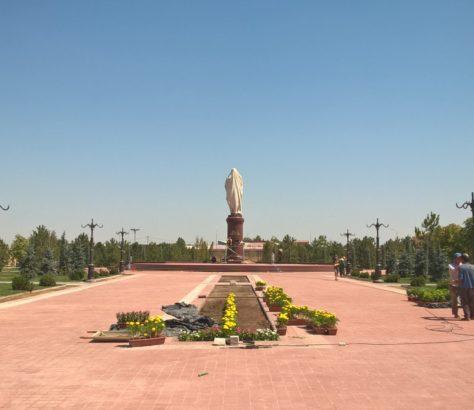 Park, Uzbekistan, Samarkand, Statue, Photo of the day