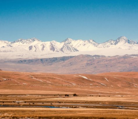 Road, Kyrgyzstan, Mountains, Chuy Valley, Photo of the day