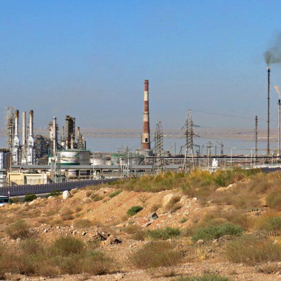 Turkmenistan, Photo of the day, Harbor, Turkmenbashi, Refinery