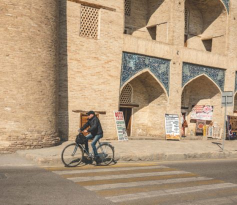 uzbekistan bukhara bicycle