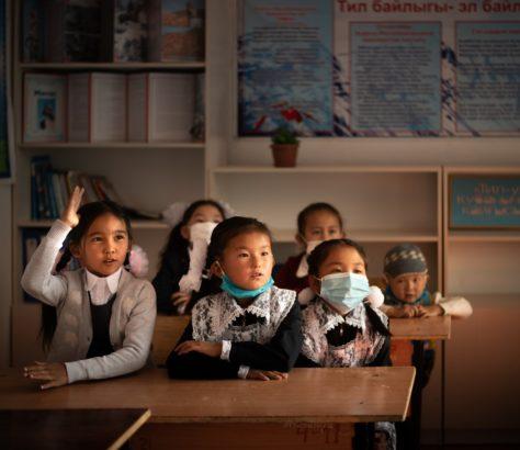 Kyrgyzstan, Back to school, Antoine Béguier, Village, Photo of the day