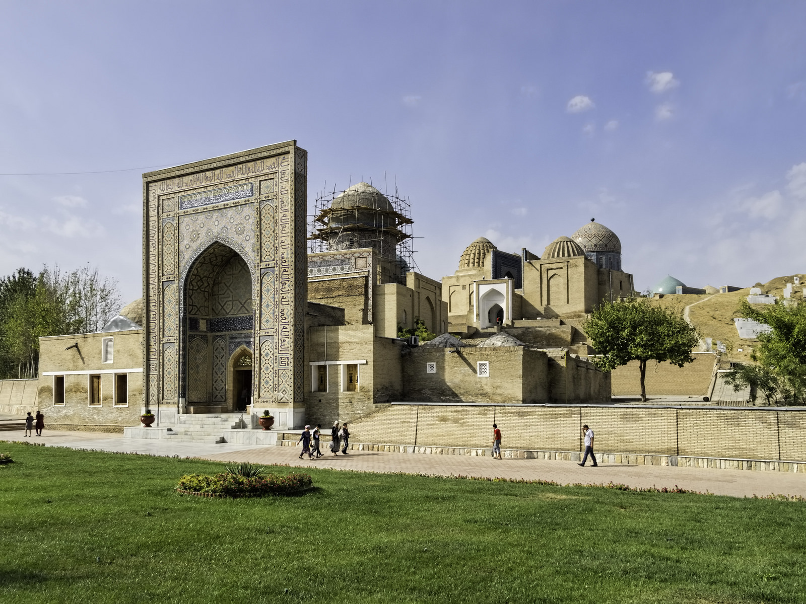Samarcande en Ouzbékistan