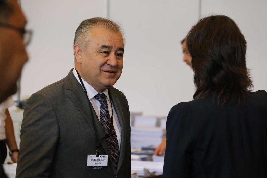 Omurbek Tekebayev OSCE Opposant 2016