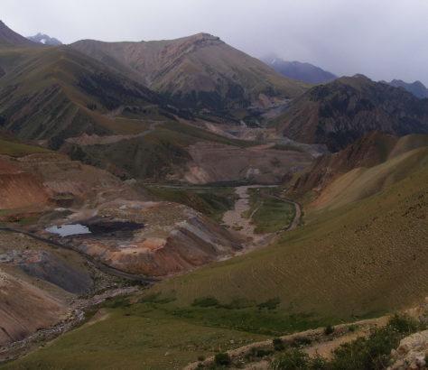 Mine Charbon Naryn Kirghizstan