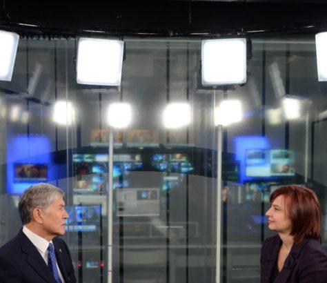 euronews Almazbek Atambaïev interview europe Kirghizstan