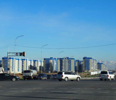Immeubles Chimkent Kazakhstan