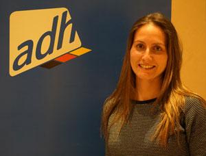 Katrin Werkmann est responsable de l'association sportive allemande.