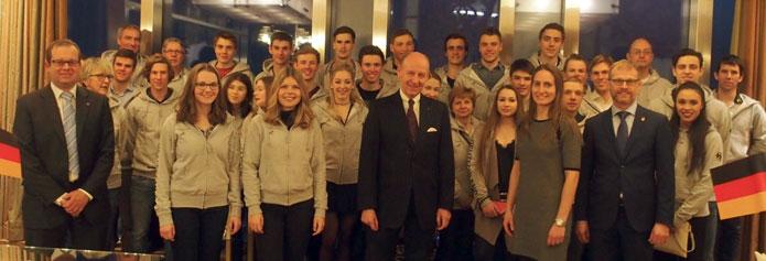 Equipe allemande Universiades Almaty