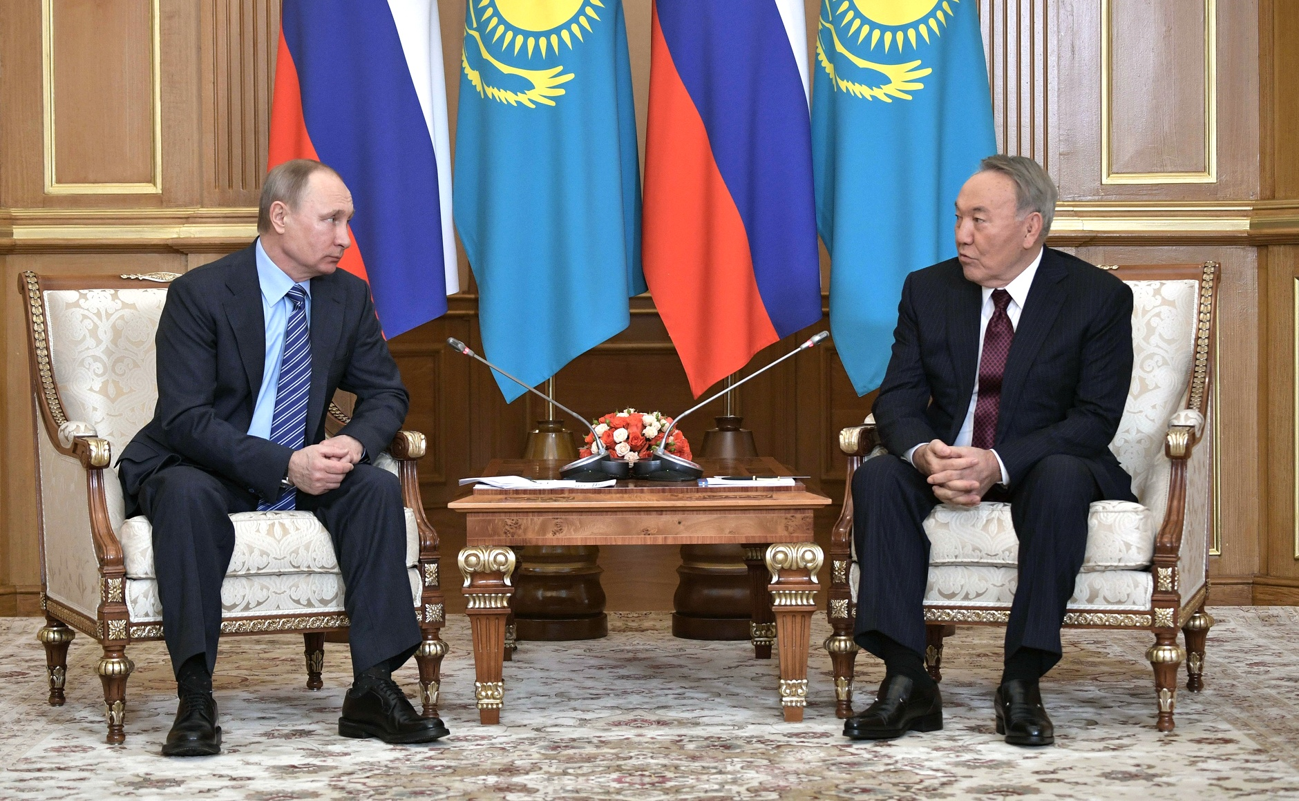 Putin Nasarbajew