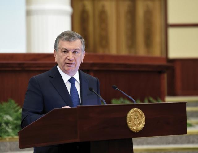 Chavkat Mirzioïev Parlement Ouzbékistan Président