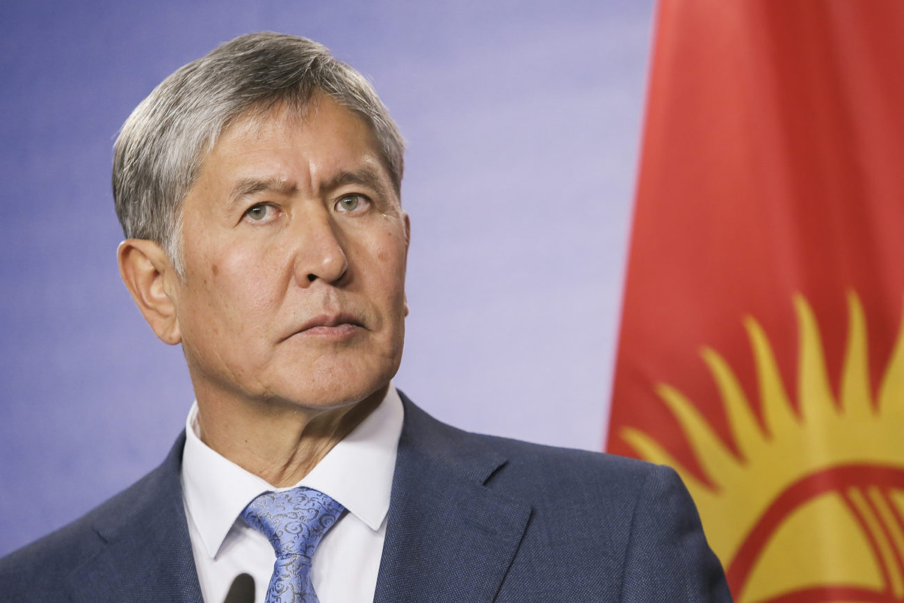 Almazbek Atambaïev Président Kirghizstan