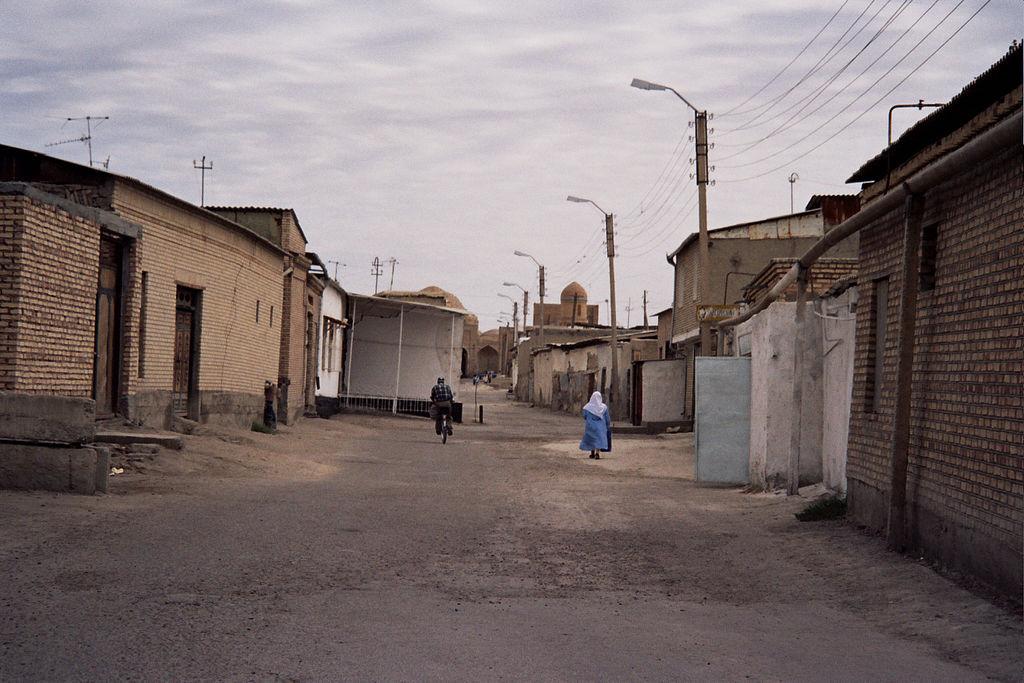 Rue Boukhara Ouzbékistan