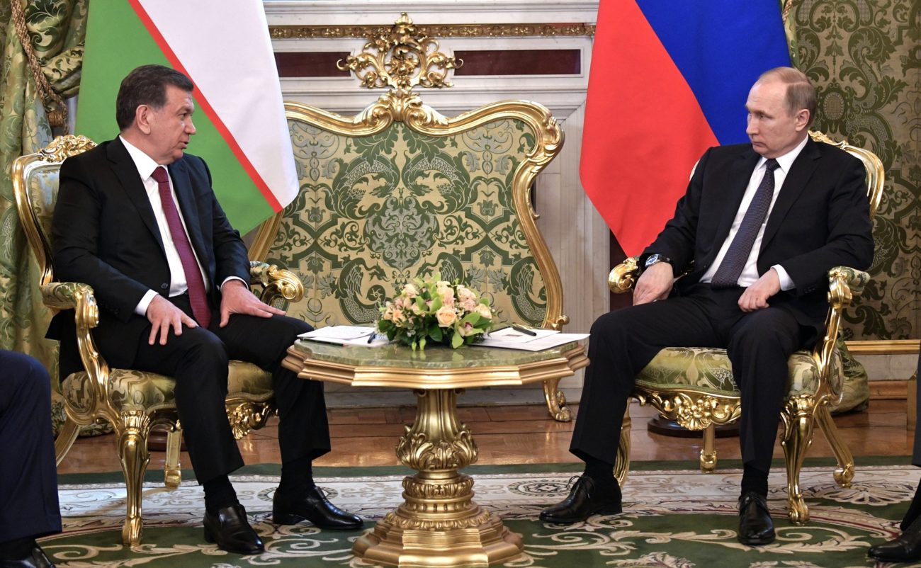 Chavkat Mirzioïev Vladimir Poutine Ouzbékistan Russie visite Moscou